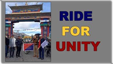 """Photo of Arunachal: DGP Flags off """"RIDE FOR UNITY"""" Motorcycle Rally of West Kameng Police"""