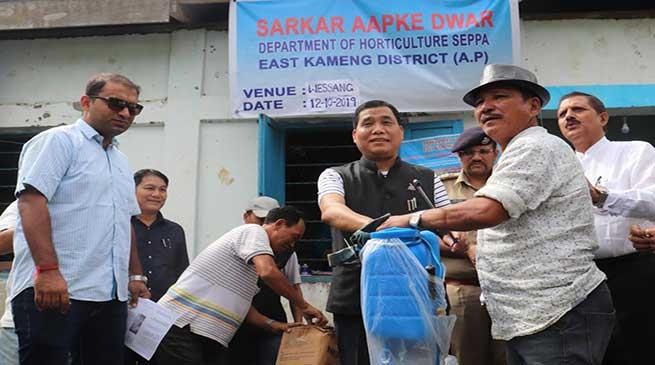 Arunachal: Sarkar Aap Ke Dwar held at Wessang of East Kameng