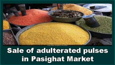 """Photo of Arunachal: Woman exposes """"How adulterated pulses are being sold in Pasighat market"""""""