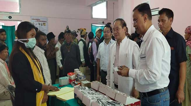Arunachal: World Sight Day celebrated at Sagalee