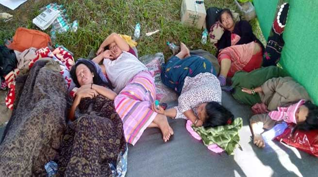 Itanagar: AAPACSU, AYSU continue hunger strike despite deteriorating health