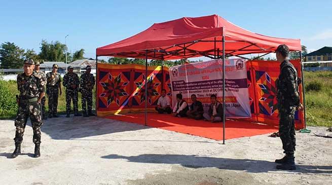 Arunachal: AdiSU begins 48 hour dharna in Namsai
