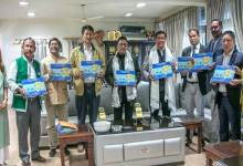 Itanagar: Khandu releases Coffee Table Book 'Glimpses of Fisheries in Arunachal Pradesh'