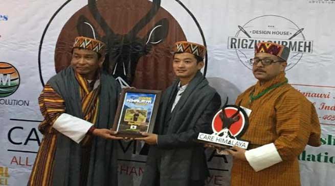 Arunachal: Sange Tsering of Dirang gets Care Himalayan Award