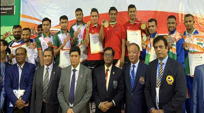 South Asian Karate Championship: Indian team make a record by winning 51 medals