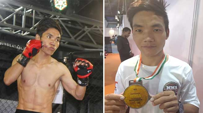 Arunachal boy Taluk Hilli got the best fighter award