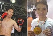 Photo of Arunachal boy Taluk Hilli got the best fighter award
