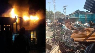 Photo of Arunachal: 5 shops gutted, 4 damaged in fire in Tezu