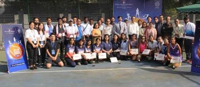 East Zone Inter University Tennis Championship 2019- 20 (W) - Closing Ceremony