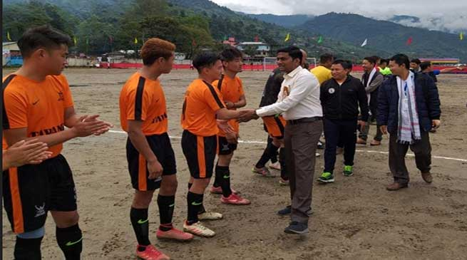 Arunachal: XVIII Tadar Tang football qualifier for Zone 1 begins at Seppa