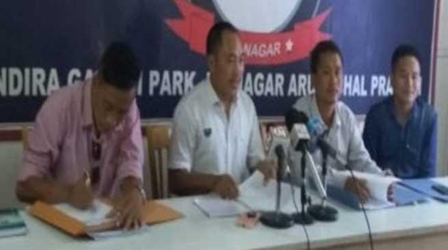 Arunachal: AATUHAA threatens for movement in support of their demands