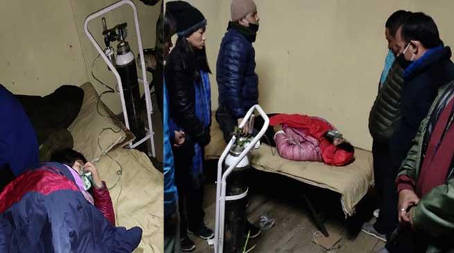 Arunachal: SSB saved Bhutanese pilgrims suffering from AMS in Bangajung