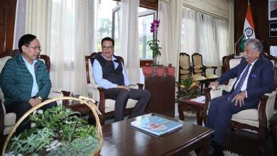 Photo of Arunachal: Dy CM Chowna Mein calls on the Governor