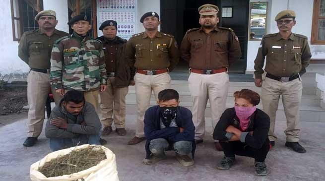 Arunachal: Drug peddler arrested, Charas recovered in Bomdila