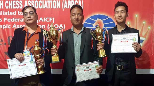 Arunachal: 4th state level open fide rating chess tournament-2019 concluded