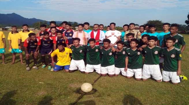 Arunachal: Friendship football tournament for communal harmony