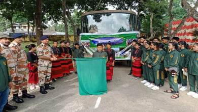 Photo of  ITBP organised Excursion Tour for Border Area Students