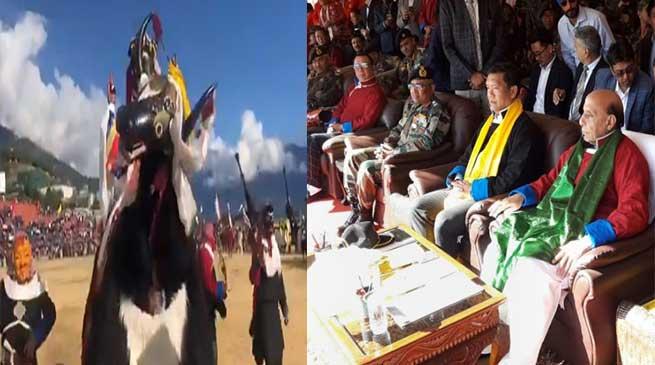 Arunachal: Raksha Mantri Rajnath Singh attends 'Maitree Diwas' in Tawang