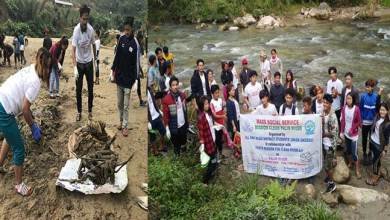 Photo of Arunachal: Palin river cleaning mission by AKDDSU and YMCR
