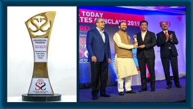 Photo of Arunachal Pradesh conferred the 'Most Improved Small State' award