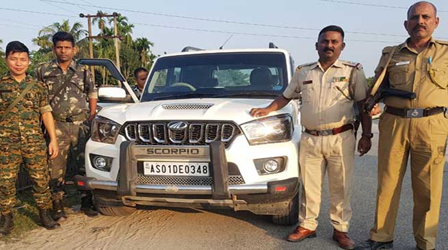 Itanagar: GPRS device helps Capital Police to recover stolen Scorpio