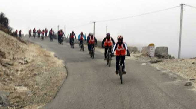 Trans Arunachal Mountain Terrain Cycling Expedition completed
