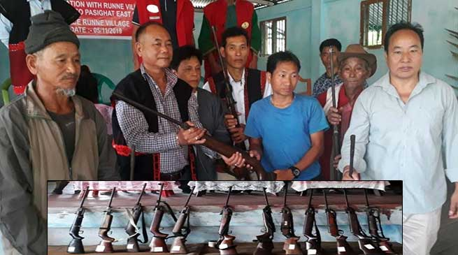 Arunachal: Villagers submit their AirGun to authorities as initiative for wild life conservation