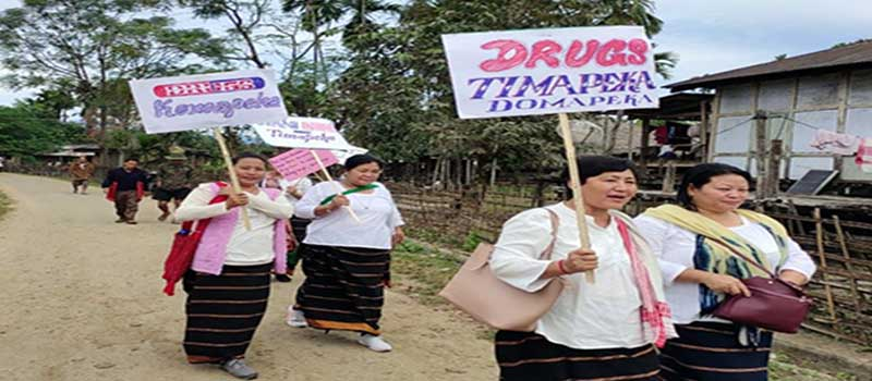 Arunachal: WASE takes out rally against drug menace
