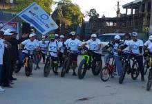 Cycle rally to aware on World Diabetes Day