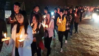 Photo of Itanagar: UAIPF organises Candlelight March against CAA