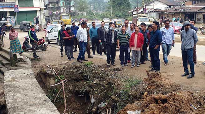 Itanagar: ADM Talo Potom carried out inspection on NH-415