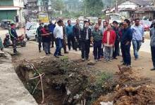 Photo of Itanagar: ADM Talo Potom carried out inspection on NH-415