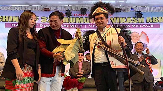 Arunachal: Khandu launches Rumgong Vikas Abhiyan in Siang dist