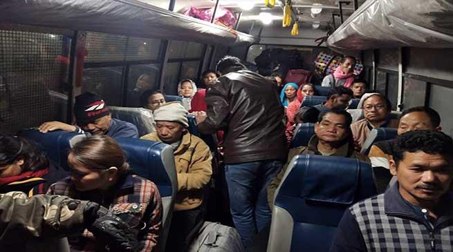 Arunachal: Police rescues 26 stranded Arunachalees from Assam