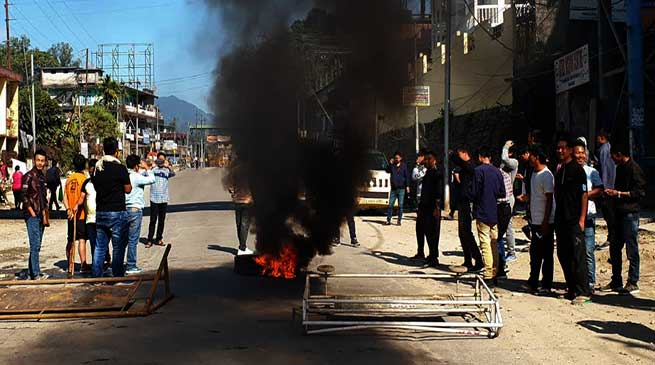 CAB protest: Bandh hits normal life in Arunachal Pradesh