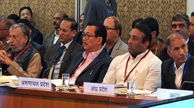 Chowna Mein attends Pre-Budget consultation meeting for the Union Budget 2020-21