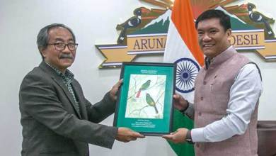 Photo of Arunachal: Khandu expressed concern over decreasing of wetlands in the state