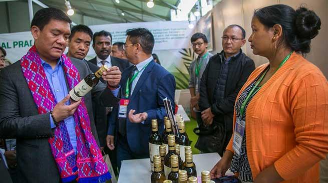 Meghalaya: Arunachal CM visits North East Food Show in Shillong
