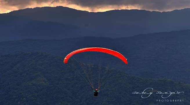 Arunachal: Training course of paragliding concludes