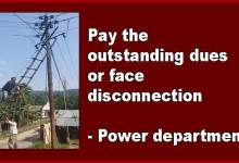 Photo of Arunachal: pay the outstanding dues or face disconnection- Power department