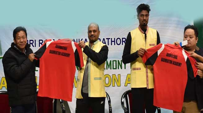 Arunachal Badminton  Academy launched