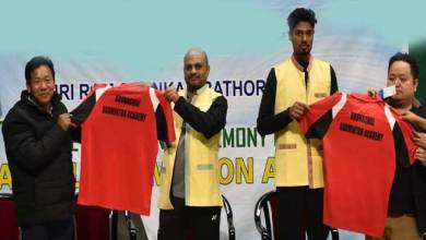 Photo of Arunachal Badminton Academy launched