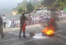 Itanagar: Fire and Evacuation Drill conducted in school