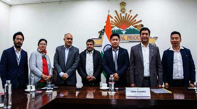 Mega Food Park: Khandu took detailed status report in a meeting