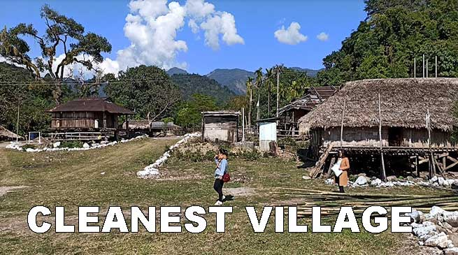 Arunachal: Silluk village selected as Cleanest village of East Siang