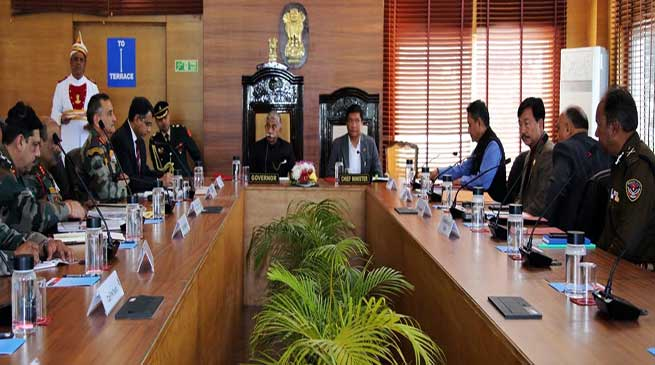 Arunachal: Governor chairs coordination meeting