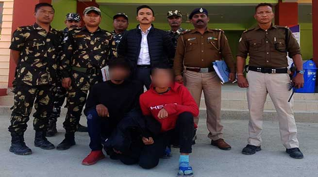 Itanagar: auto-lifters Gang busted, 4 vehicles recovered