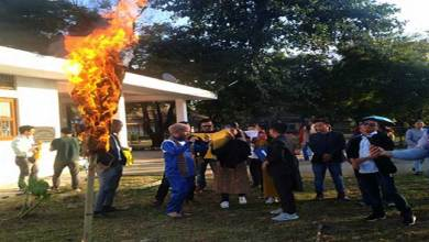 Arunachal: RGUSU protest against CAA, NRC and JNU attacks