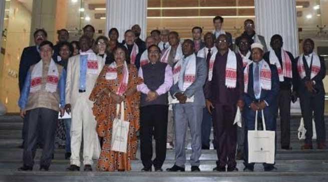 Assam: International Summit and Trade fair Delegates lauds Royal Global University