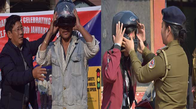 Arunachal: Week long Road Safety week at Tirap Concludes